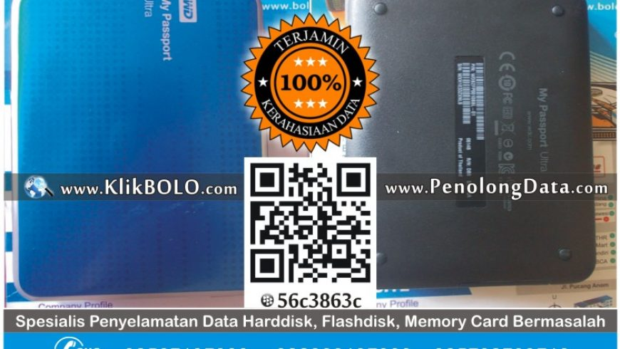 Recovery Data Harddisk External WD 1TB – PT AKR Surabaya
