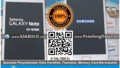 Recovery Data HP Android Bootloop Samsung GT-N7000 – Yuni Surabaya