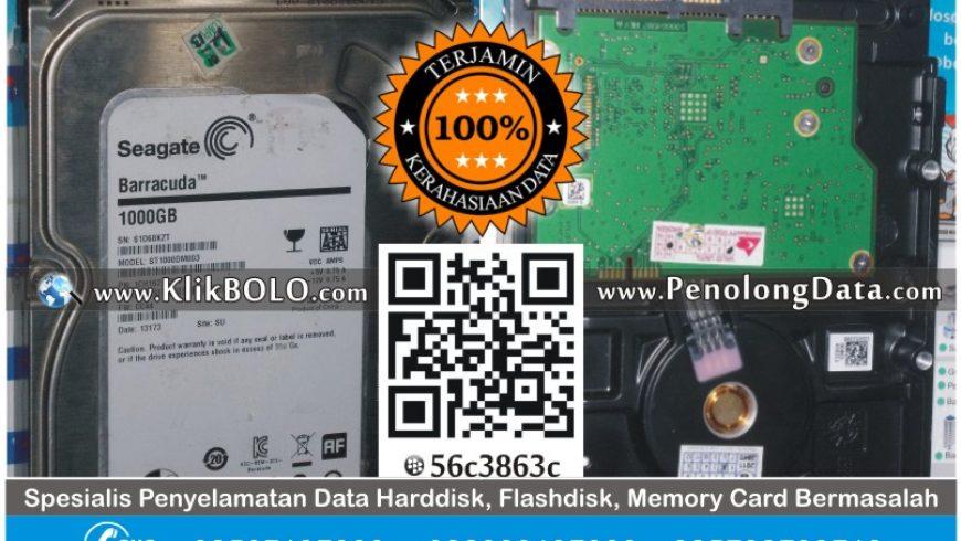 Recovery Data Harddisk Seagate 1 TB RS Wava Husada Malang