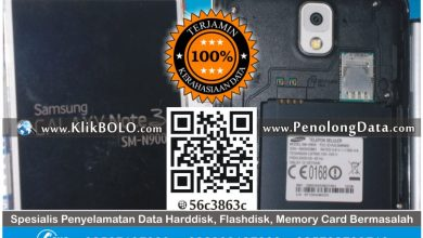 Recovery Data Samsung Galaxy S3 SM-N900 Error – Sisilia Surabaya