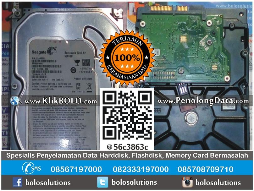 Recovery Data Harddisk Seagate 500GB Ubaidillah Sampang