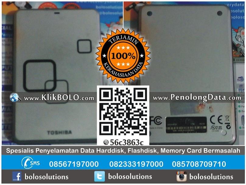 Recovery Data Harddisk Toshiba 1TB Indra Karijanto Sukomulyo