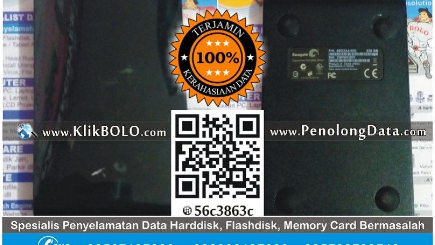 Recovery Data Harddisk Seagate 500GB Edo Suhartanto Sidoarjo