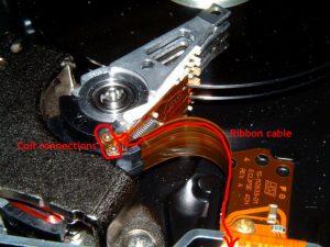 Ribbon Cable Harddisk