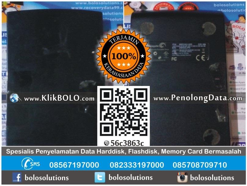 Recovery Data Harddisk Eksternal Seagate 320GB Renatus Surabaya