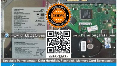 Recovery Data Harddisk Internal Seagate 160GB Agus W Sidoarjo