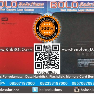 Recovery Data Eksternal Harddisk WD 1TB Aditya Alan Surabaya