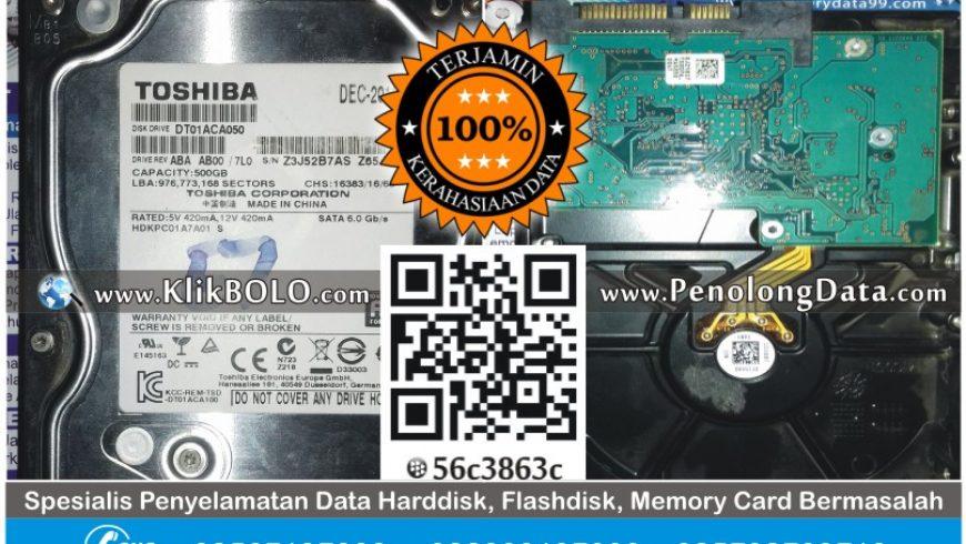 Recovery Data Harddisk Internal Seagate 1TB Budianto Surabaya