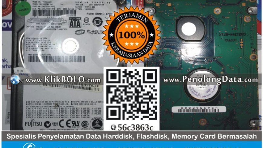 Recovery Data Harddisk Internal Fujitsu 320GB Abdul Afif Bojonegoro
