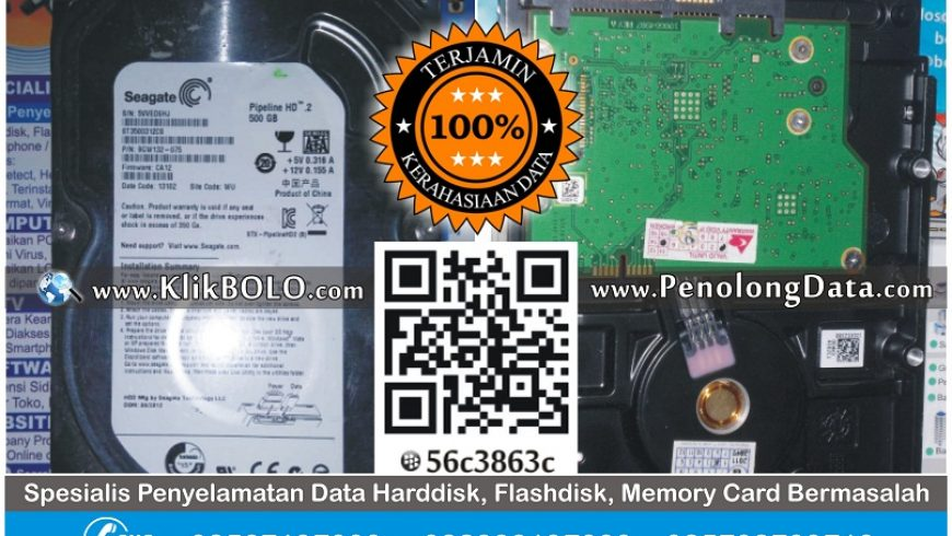 Recovery Data Harddisk Internal Seagate 500GB Sarwo Edi Tuban