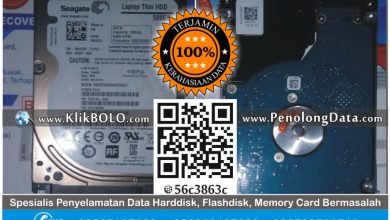 Recovery Data Harddisk Internal Seagate 500GB BPR Bank Jombang