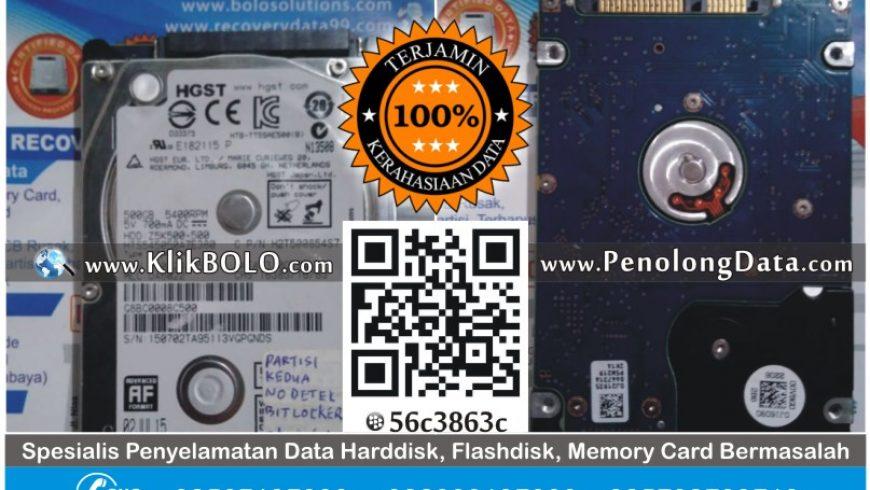 Recovery Data | Harddisk HGST 500GB Relef SMK Yapenas Pasuruan