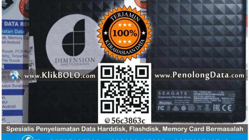 Recovery Data Harddisk Seagate | Harddisk Seagate 1TB Igha Vinda Bhakti Husada