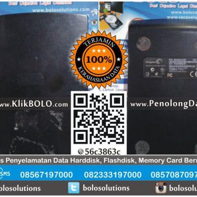Recovery Data Eksternal Seagate | Harddisk Seagate 320GB Agus Widodo Surabaya