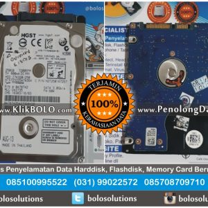 Recovery Data Sukses | Harddisk HGST 250GB Rahmad Dwi Manukan Surabaya