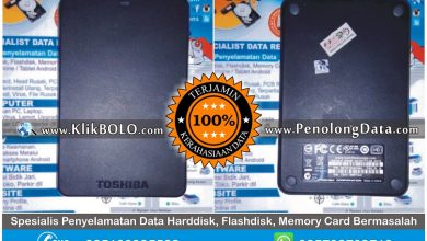 Recovery Data Finish | Recovery Data Harddisk Toshiba 500GB Dian Gresik