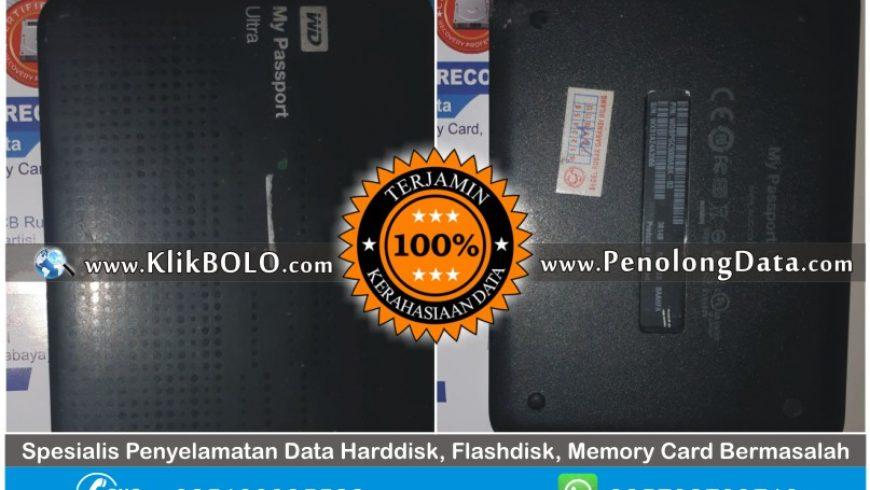 Recovery Data WD Sukses | Harddisk WD 500GB Oscar Didiaspora Sidoarjo
