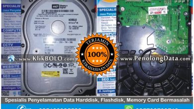 Recovery Data WD Sukses | Harddisk WD 80GB Mohamad Heru PT Graha Pena Surabaya