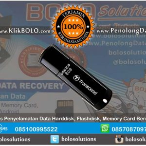 Recovery Data FD Finish | Flashdisk Transcend 8GB Sylvia Citraland Surabaya
