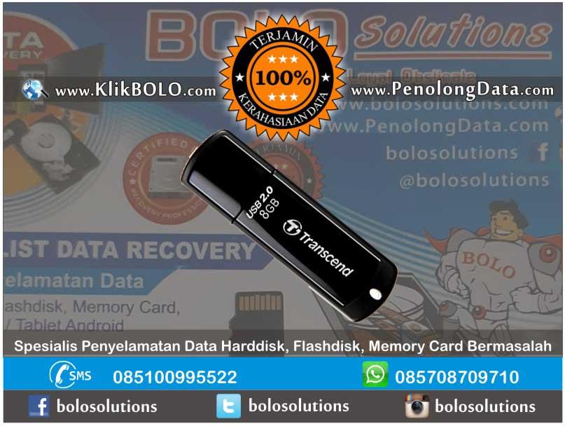 Recovery Data FD Finish | Flashdisk Transcend 8GB Sylvia Citraland Surabaya