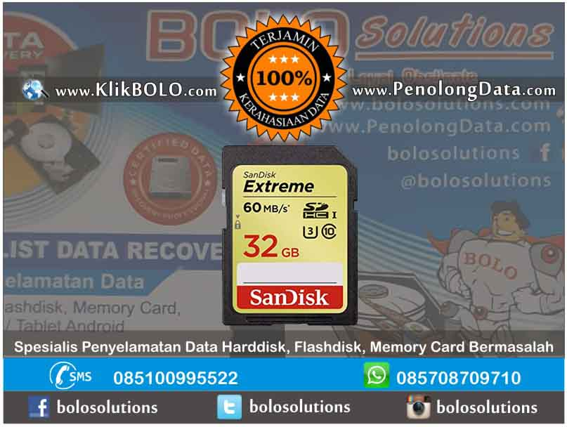 Recovery Data SDHC Sukses | SDHC Sandisk 16GB Yudrika Azka Jl Nias Surabaya