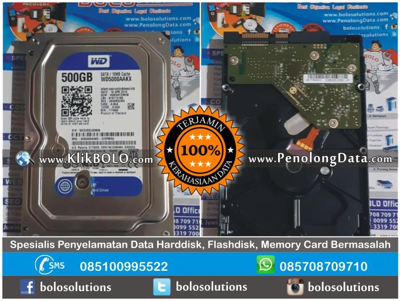 Recovery Data WD Blue | Harddisk WD Blue 500GB James Darmo Surabaya