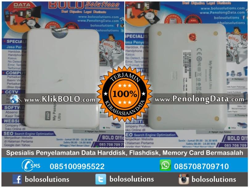 Recovery Data WD Finish | Harddisk WD 1TB Kenny Laurens Kupang NTT