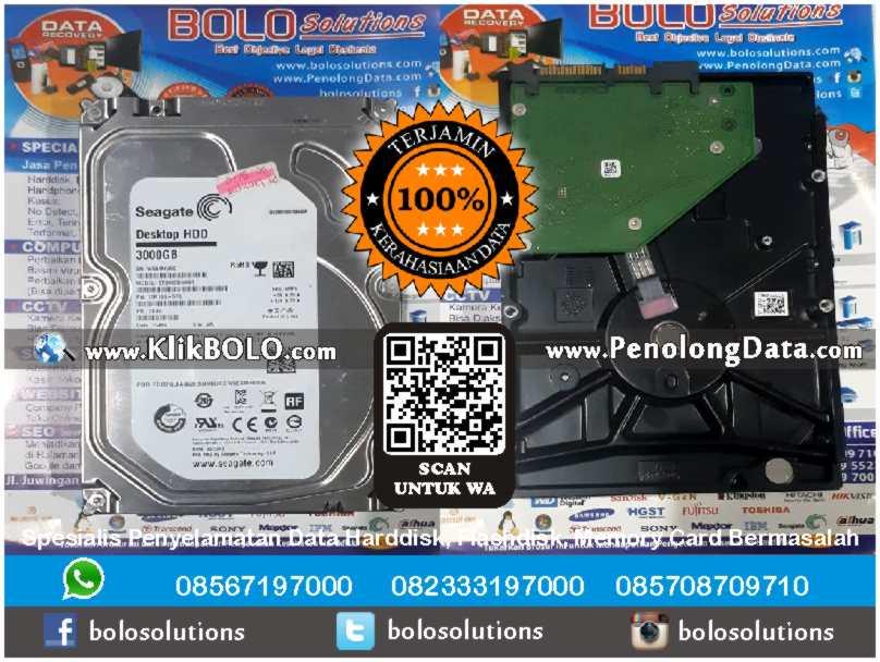 Recovery Data Seagate Finish | Harddisk Lacie Isi Seagate 3000 GB PT. Lamipak Primula Indonesia, Agung Asy'ari