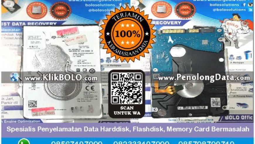 Recovery Data Seagate Finish | Harddisk Seagate 1 TB PT. Bayu Buana Gemilang, Wira Arif Isrofi