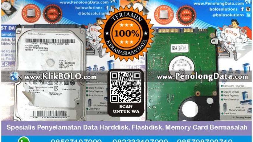 Recovery Data Samsung Momentus Finish | Harddisk Samsung 1 TB VDR Surabaya, Jimmy