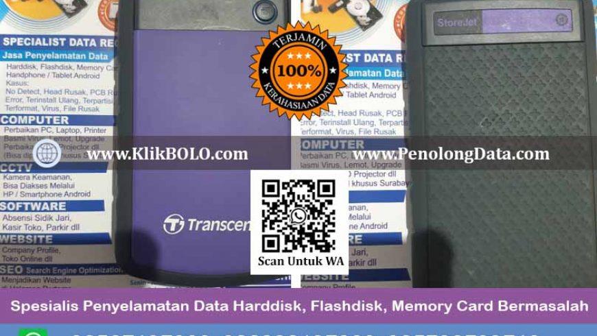 Recovery Data Harddisk Transcend Store Jet Isi Samsung Momentus 500 GB, Adrianus, Semarang Finish