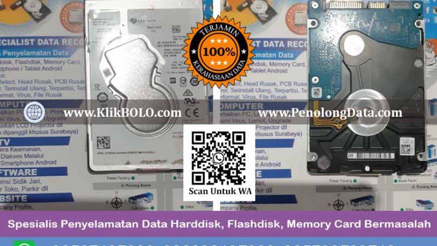 Recovery Data Harddisk Seagate Mobile Hdd 1 TB, D'Comp Surabaya, Achmad Saifudin Finish
