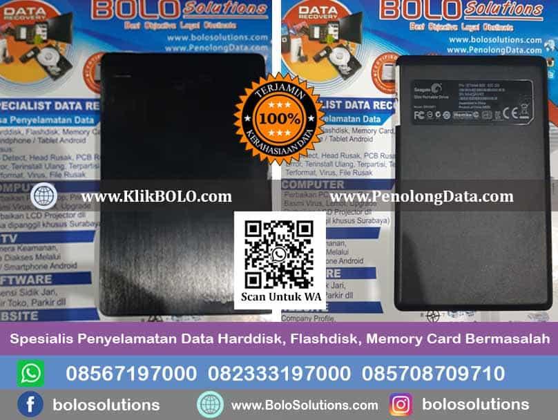 Recovery Data Seagate Slim Portable Drive Rachmat