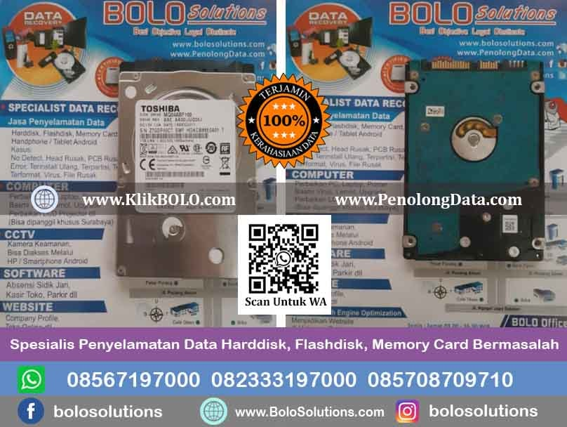 Recovery Data Harddisk Aulia Prawidya S