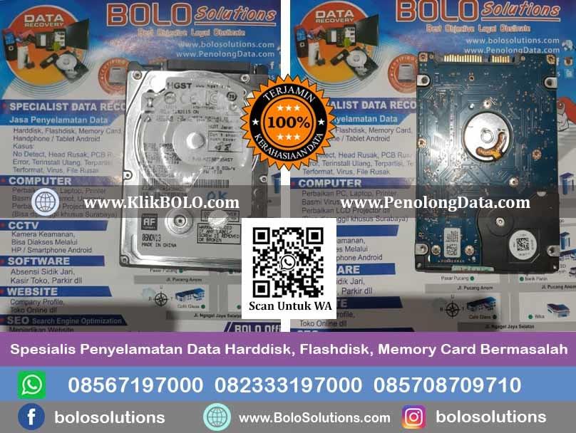 Recovery Data Harddisk PT. PJB Services Sidoarjo
