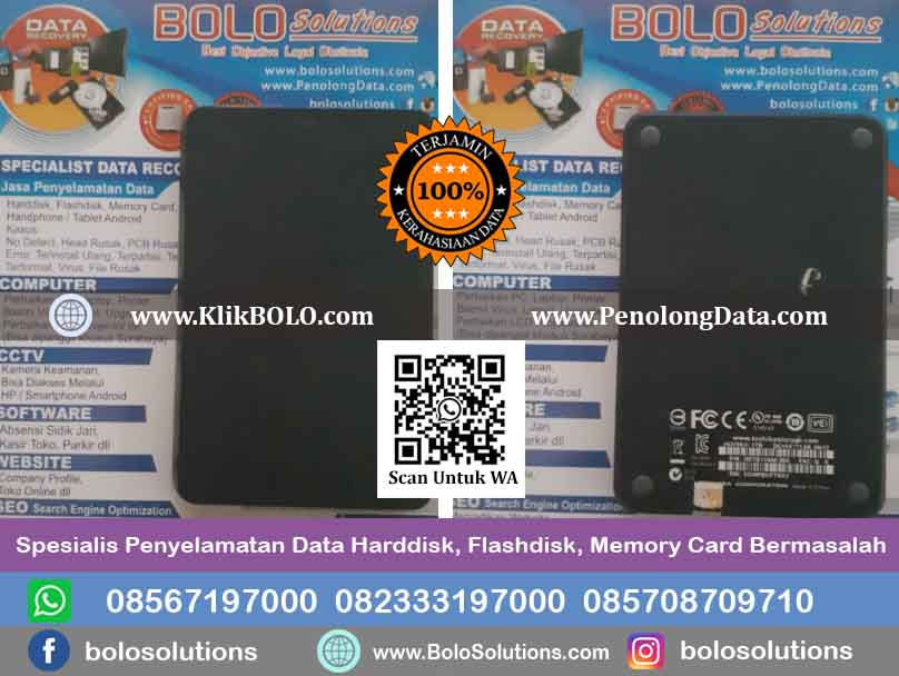 Recovery Data Harddisk Andie Wicaksono, SH