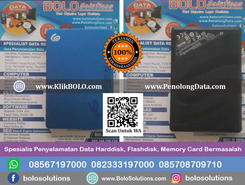 Recovery Data Harddisk Yossi Al-Amien, ST
