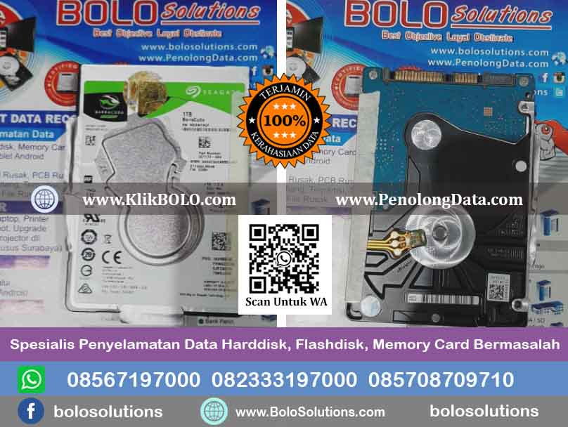 RECOVERY DATA HARDDISK ABDUL CHOLIQ IDRUS - PT LAMIPAK PRIMULA INDONESIA
