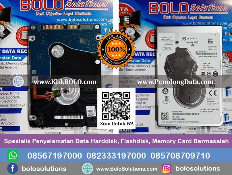 Recovery Data Harddisk Internal Seagate Mobile 2,5 1 TB Mujiono Probolinggo Finish.