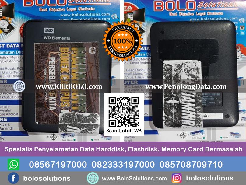 Recovery Data Harddisk WD Elements 2,5 750 GB Salshabila Chalwa Surabaya Finish.